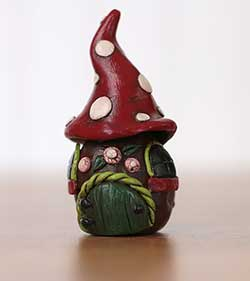 Toadstool Fairy House Miniature