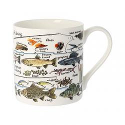 Fishing Bone China Mug