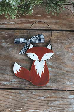 Fox Personalized Ornament
