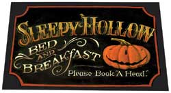 Sleepy Hollow Decorative Floor Mat