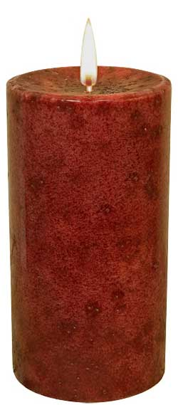 Cinnamon Sticks Pillar Candle - 6 inch