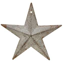 Galvanized Metal Barn Star, 3.5 inch
