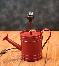 Watering Can Lamp Base