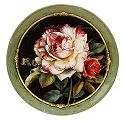 Garden View Round Platter