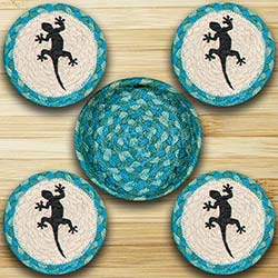 Gecko Braided Coaster Set