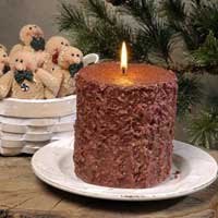 Gingerbread Cake Candle