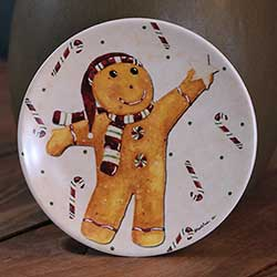 Snow Friends Mini Plate