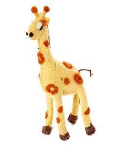 Giraffe Wool Ornament