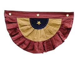 Colonial Americana Bunting