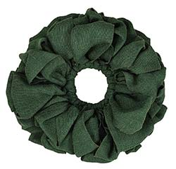 Burlap Wreath - Green (15 inch)