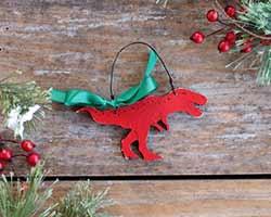 Tyrannosaurus Rex Ornament (Personalized)