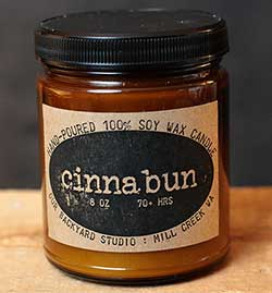 Cinnabun Soy Jar Candle