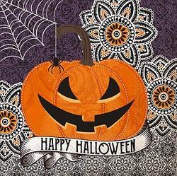 Happy Halloween Paper Luncheon Napkins