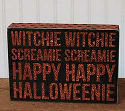 Primitives By Kathy Witchie Witchie Box Sign