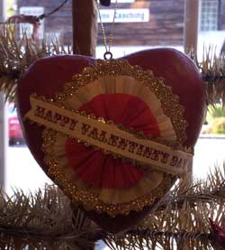 Token of Affection Heart Ornament - Happy Valentine's Day