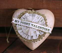 Token of Affection Heart Ornament - My Funny Valentine