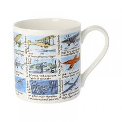 History Of Flight Bone China Mug