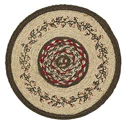 Holly Berry Jute Tablemat