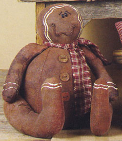 Whimsy Sitting Gingerbread