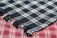 Huntington Plaid Placemat - Black