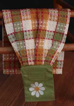 Spring Breeze Hanging Dishtowel