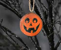 Jefferson Jack o'Lantern Ornament