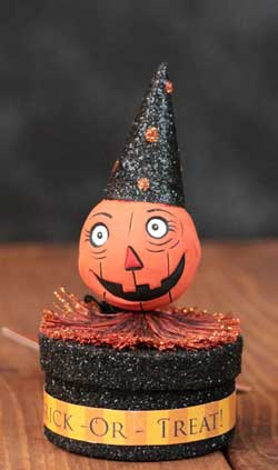 Glitterville Halloween Favor Box - Jack