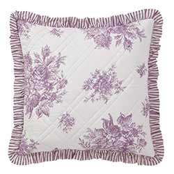 Josephine Orchid Sham - Euro (Quilted)