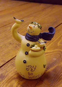 Joy to the World Snowman