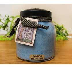 Bamboo Waterfall Keepers of the Light Jar Candle - Papa