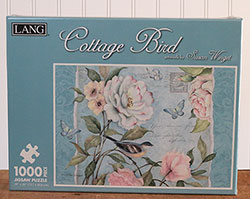 Cottage Bird Puzzle (1,000 piece)