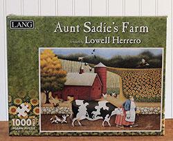 Aunt Sadie's Farm Puzzle (1,000 piece)