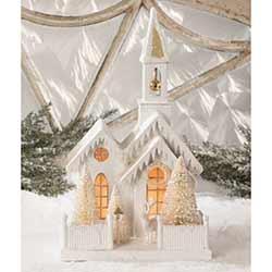 Peaceful Winter Church