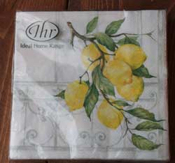 Lemon Tree Luncheon Napkin