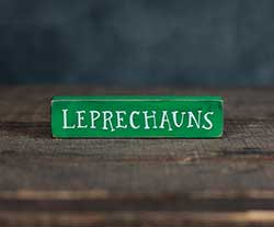 Leprechauns Mini Stick Shelf Sitter
