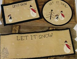 Let it Snow Placemat