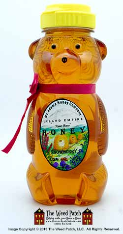 Snowberry Honey - Honey Bear