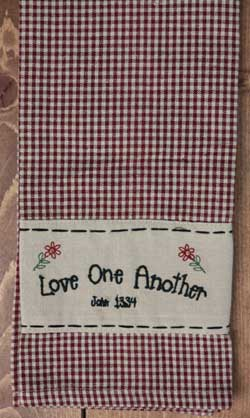 Love One Another Towel