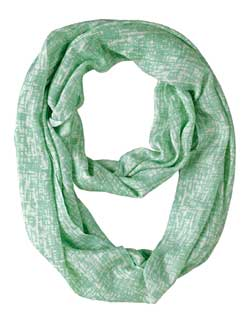 Lucite Abstract Infinity Scarf