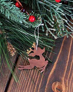 Mini Reindeer Ornament