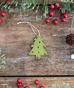 Mini Christmas Tree Ornament