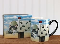 Toulouse Largent Boxed Mug