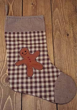 Gingerbread Man Stocking