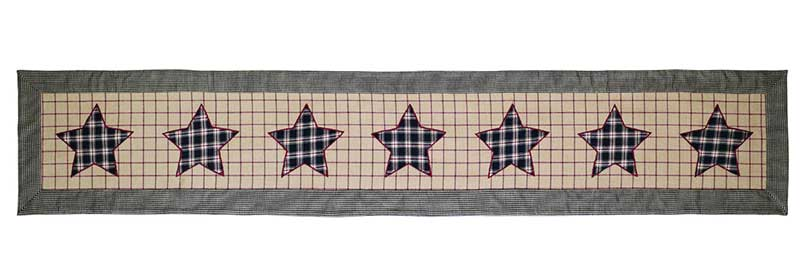 Bingham Star Table Runner - 72 inch