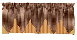 Patriotic Patch Valance - Layered