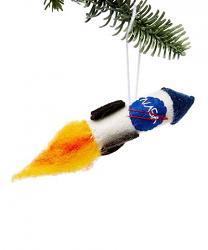 NASA Rocket Ornament