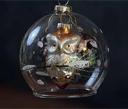 Owl Dome Ornament