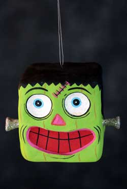 One Hundred 80 Degrees Spooky Kooks Ornament - Frankenstein
