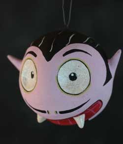 One Hundred 80 Degrees Spooky Kooks Ornament - Dracula