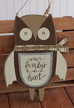 Primitives By Kathy A Hoot Hang-Up